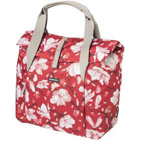 Basil Magnolia Gepäckträger Tasche 18l poppy red